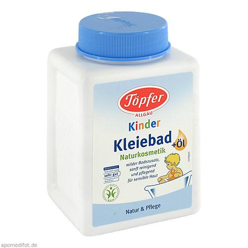 TÖPFER Kinder Kleiebad mit Öl, 250 G, TÖPFER GmbH
