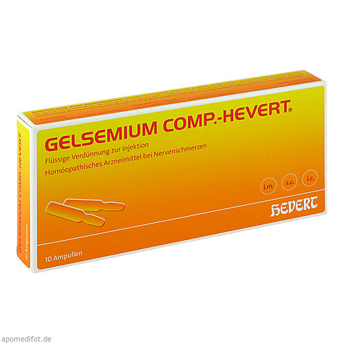 GELSEMIUM COMP.Hevert Ampullen, 10X2 ML, Hevert Arzneimittel GmbH & Co. KG