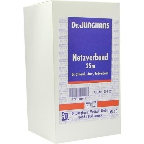 NETZVERBAND 25M GR.2 HAND ARM FUSS, 1 ST, Dr. Junghans Medical GmbH