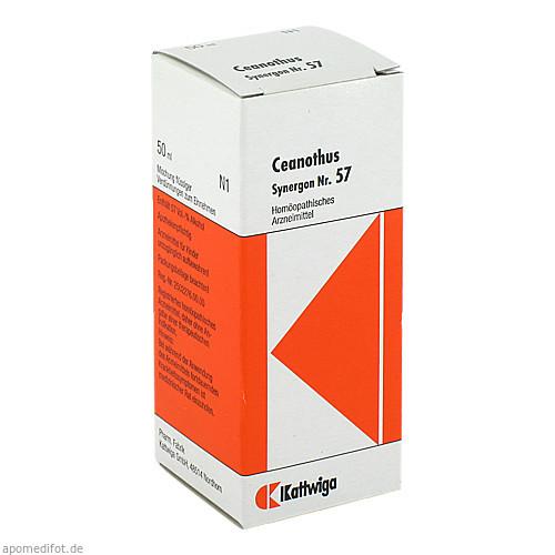 SYNERGON KOMPL CEANOTH 57, 50 ML, Kattwiga Arzneimittel GmbH