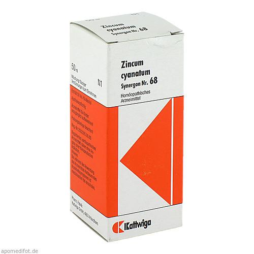 SYNERGON KOMPL ZINC CYA 68, 50 ML, Kattwiga Arzneimittel GmbH