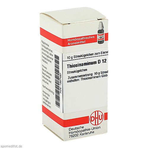 Thiosinaminum D12, 10 G, Dhu-Arzneimittel GmbH & Co. KG