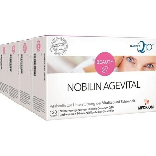 Nobilin Agevital, 4X120 ST, Medicom Pharma GmbH
