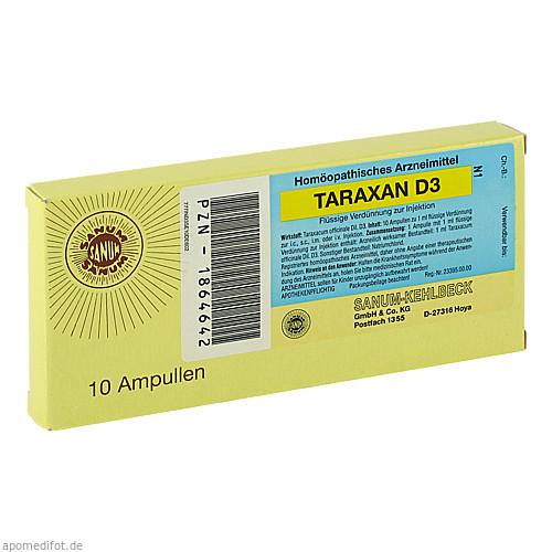 TARAXAN D3 Flüssige Verdünnung zur Injektion, 10X1 ML, Sanum-Kehlbeck GmbH & Co. KG