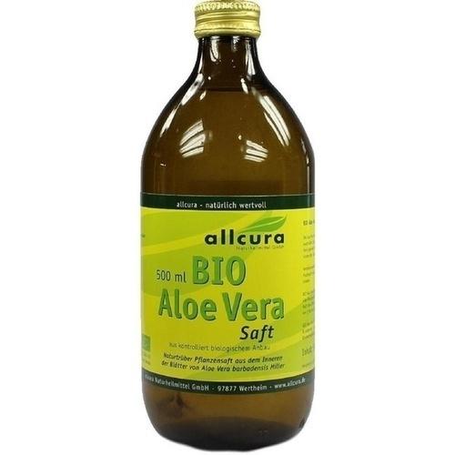 Aloe Vera Saft Bio, 500 ML, Allcura Naturheilmittel GmbH