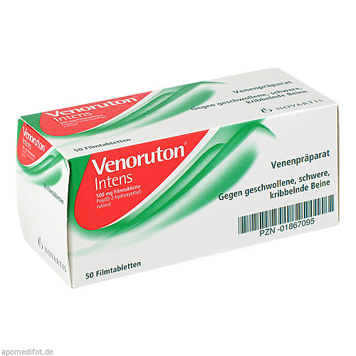 VENORUTON INTENS, 50 ST, GlaxoSmithKline Consumer Healthcare
