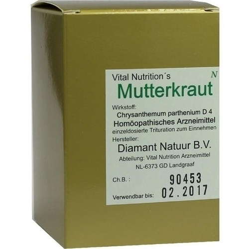 MUTTERKRAUT KAPSELN, 60 ST, Vital Nutrition GmbH