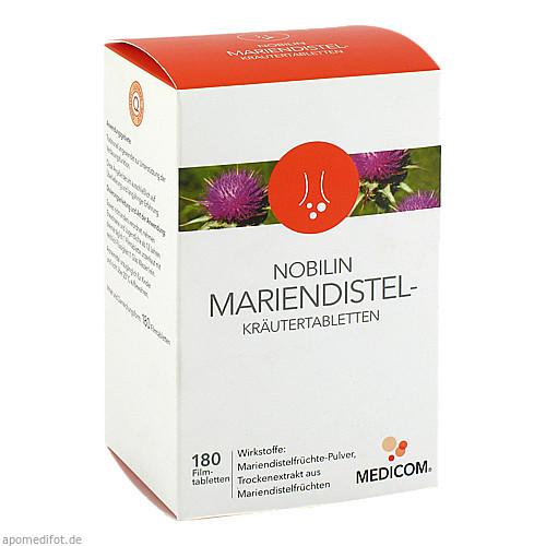 Nobilin Mariendistel-Kräutertabletten, 180 ST, Medicom Pharma GmbH