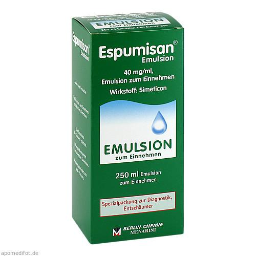 Espumisan Emulsion f. bildgebende Diagnostik, 250 ML, Berlin-Chemie AG