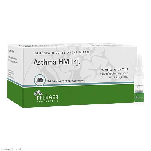 Asthma HM Inj., 50X2 ML, Homöopathisches Laboratorium Alexander Pflüger GmbH & Co. KG