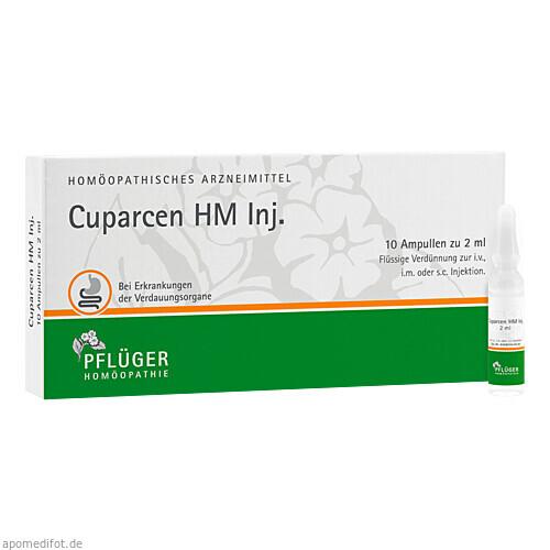 Cuparcen HM Inj., 10 ST, Homöopathisches Laboratorium Alexander Pflüger GmbH & Co. KG