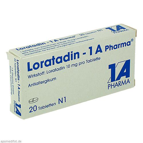 Loratadin - 1A Pharma, 20 ST, 1 A Pharma GmbH