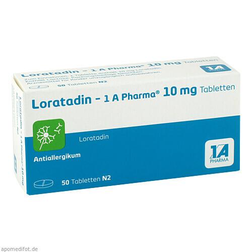 Loratadin - 1A Pharma, 50 ST, 1 A Pharma GmbH
