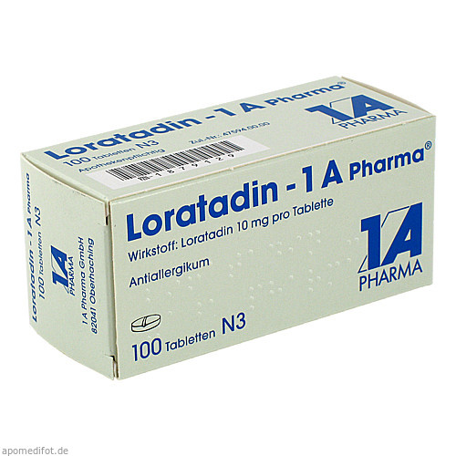Loratadin - 1A Pharma, 100 ST, 1 A Pharma GmbH