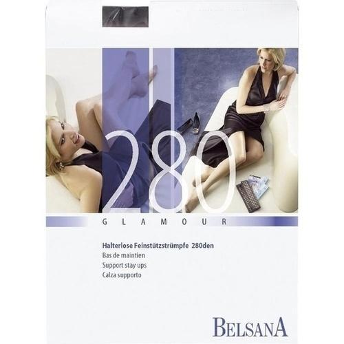 BELSANA 280den glamour AG SpHB M schw norm MSP, 2 ST, Belsana Medizinische Erzeugnisse