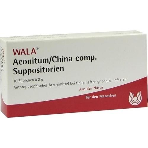 ACONITUM/CHINA COMP SUPP, 10X2 G, Wala Heilmittel GmbH