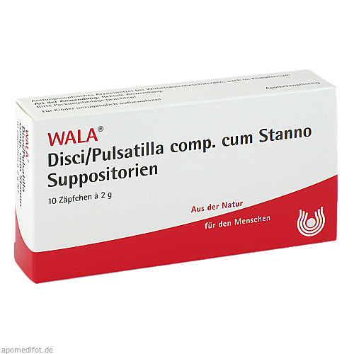 DISCI/PULSATI CP C ST SUPP, 10X2 G, Wala Heilmittel GmbH