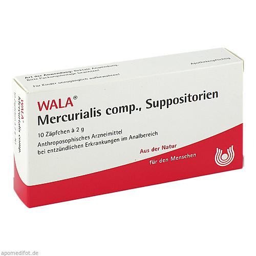MERCURIALIS COMP SUPP, 10X2 G, Wala Heilmittel GmbH