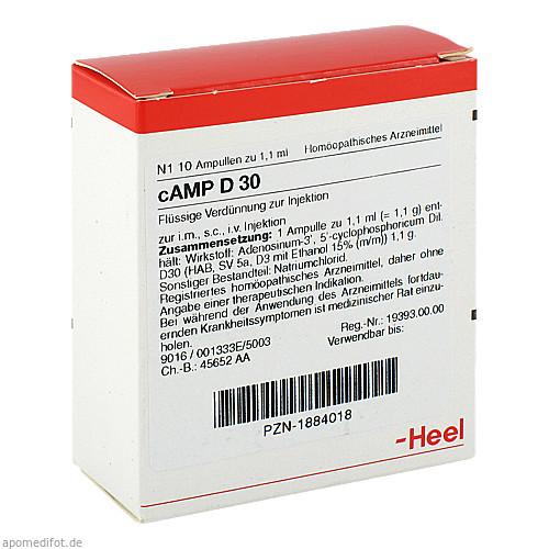 CAMP D30, 10 ST, Biologische Heilmittel Heel GmbH
