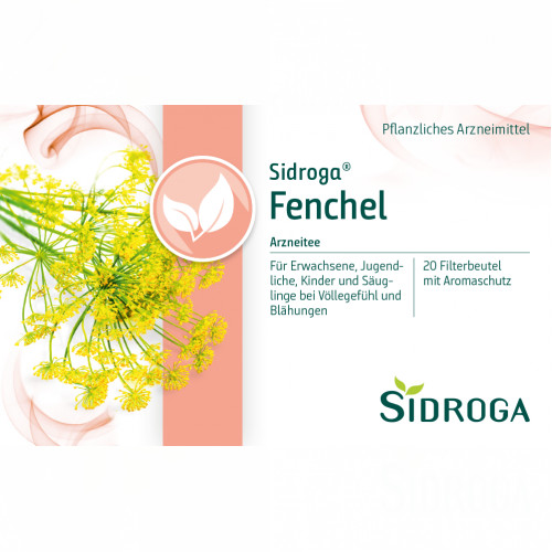 SIDROGA FENCHEL, 20X2.0 G, Sidroga Gesellschaft Für Gesundheitsprodukte mbH
