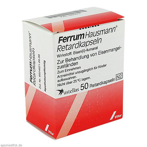 FERRUM HAUSMANN Retardkapseln, 50 ST, Vifor Pharma Deutschland GmbH