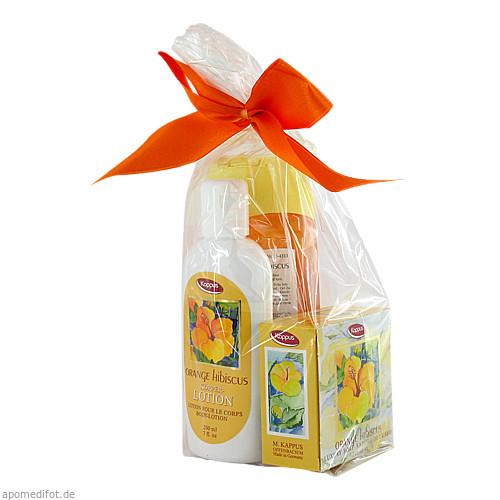 KAPPUS Orange Hibiscus Geschenkpackung, 1 P, M. Kappus GmbH & Co. KG
