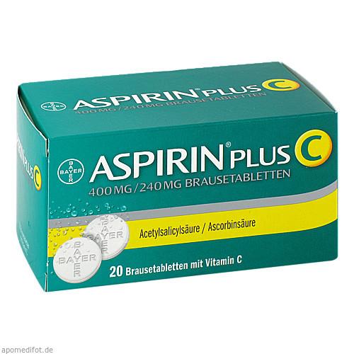 ASPIRIN PLUS C, 20 ST, Bayer Vital GmbH