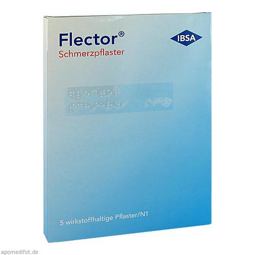 Flector Schmerzpflaster + elatischer Netzstrumpf, 5 ST, Humantis GmbH