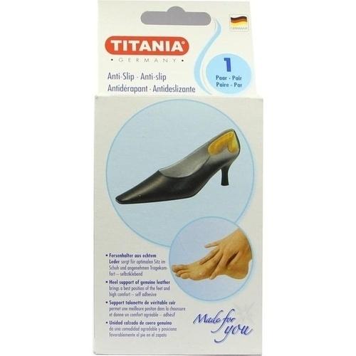 Anti Slip Fersenhalter aus Leder Titania, 2 ST, Axisis GmbH
