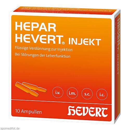 Hepar-Hevert injekt N, 10 ST, Hevert Arzneimittel GmbH & Co. KG