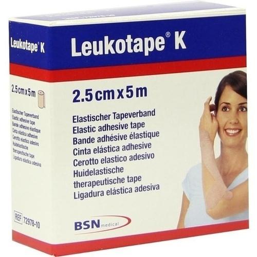 Leukotape K 2.5cm hautfarbend, 1 ST, Bsn Medical GmbH
