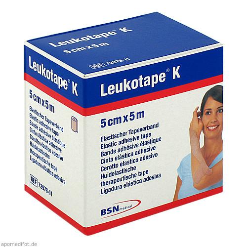 Leukotape K 5cm hautfarbend, 1 ST, Bsn Medical GmbH