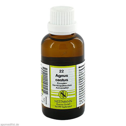 AGNUS CASTUS KOMPL NR 22, 50 ML, Nestmann Pharma GmbH