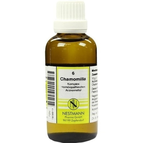 CHAMOMILLA KOMPL NESTM 6, 50 ML, Nestmann Pharma GmbH
