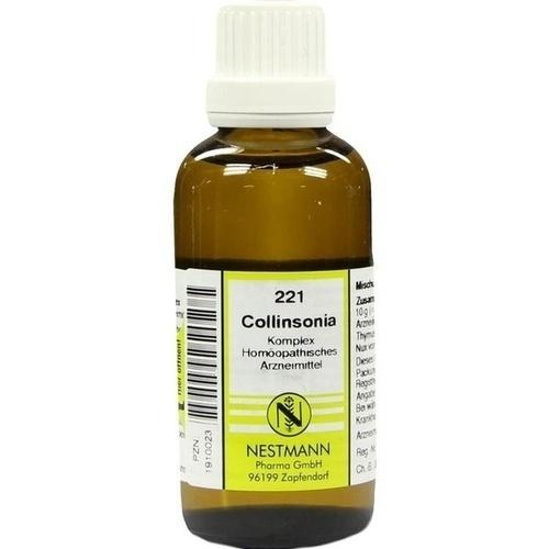 COLLINSONIA KOMPL NEST 221, 50 ML, Nestmann Pharma GmbH