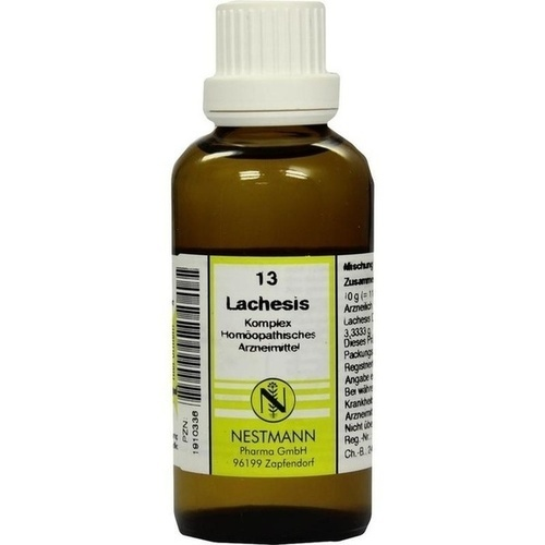 LACHESIS KOMPL NESTM 13, 50 ML, Nestmann Pharma GmbH