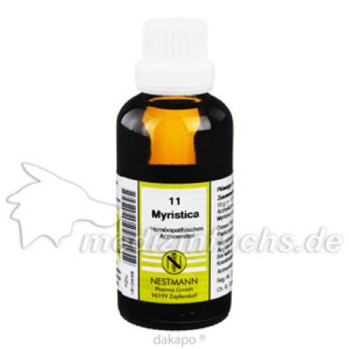 MYRISTICA KOMPL NESTM 11, 50 ML, Nestmann Pharma GmbH