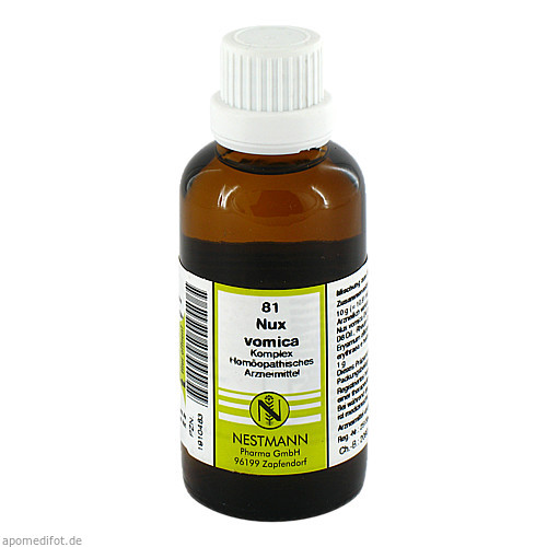 NUX VOMICA KOMPL NESTM 81, 50 ML, Nestmann Pharma GmbH