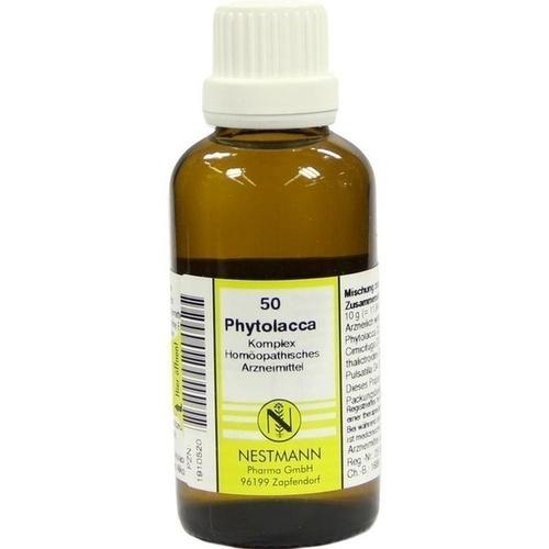 PHYTOLACCA KOMPL NESTM 50, 50 ML, Nestmann Pharma GmbH