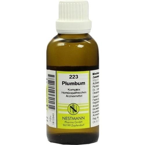 PLUMBUM KOMPL NESTM 223, 50 ML, Nestmann Pharma GmbH