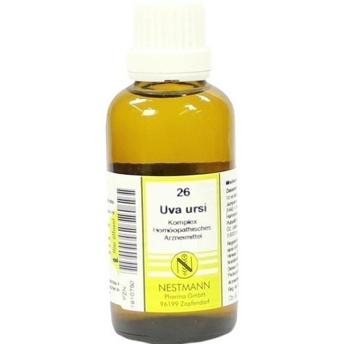 UVA URSI KOMPL NESTM 26, 50 ML, Nestmann Pharma GmbH