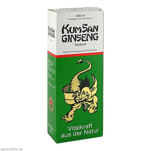 KUMSAN GINSENG, 500 ML, Pharmarissano Arzneimittel GmbH