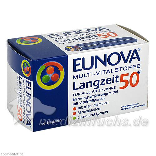 EUNOVA Multi Vitalstoffe Langzeit 50+ Kapseln, 60 ST, Stadavita GmbH