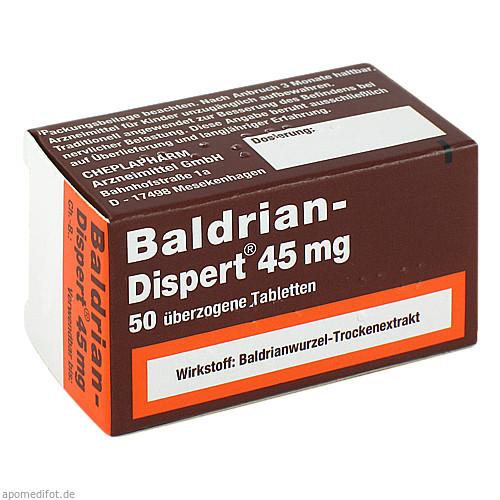 BALDRIAN DISPERT 45mg, 50 ST, Cheplapharm Arzneimittel GmbH
