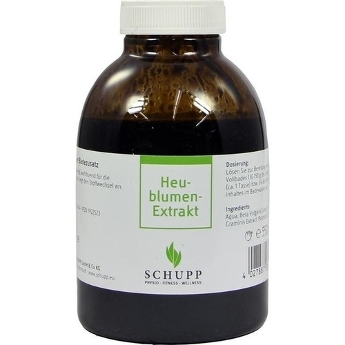 Heublumen-Extrakt, 550 G, Schupp GmbH & Co. KG