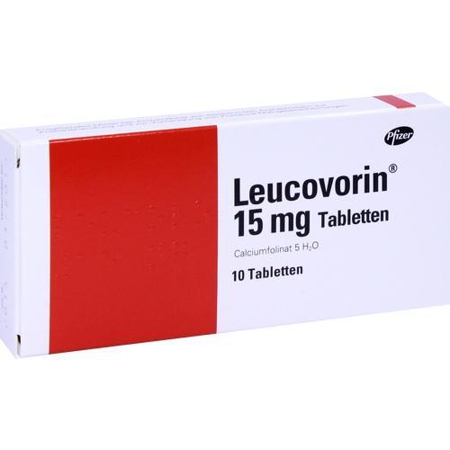 Leucovorin 15mg, 10 ST, Pfizer Pharma PFE GmbH