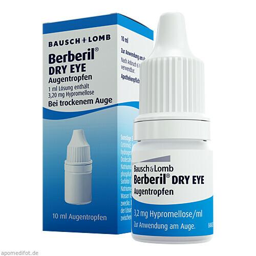 Berberil Dry Eye, 10 ML, Dr. Gerhard Mann