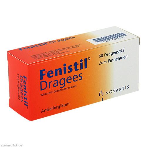 FENISTIL, 50 ST, GlaxoSmithKline Consumer Healthcare