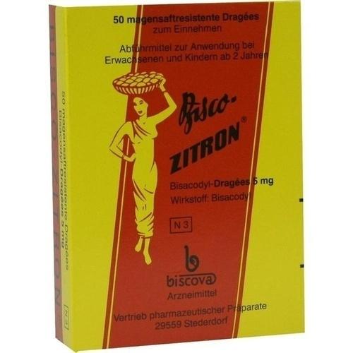 BISCO ZITRON, 50 ST, Biscova-Arzneimittel Sabine Pufal