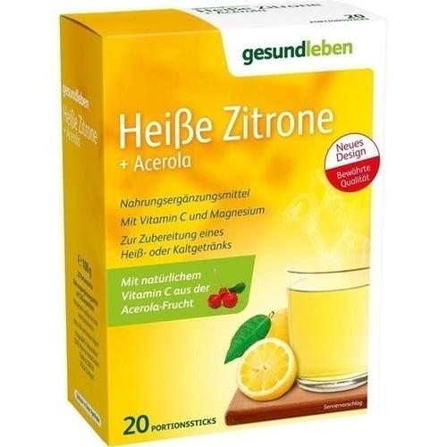 gesund leben Heiße Zitrone + Acerola, 20 ST, Gehe Pharma Handel GmbH
